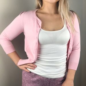 Pink EXPRESS cardigan/sweater